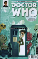 Doctor Who The Tenth Doctor Adventures: Year Two #12 (Cover C)